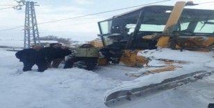 Sivas'ta 385 köy yolu araç ulaşımına kapandı