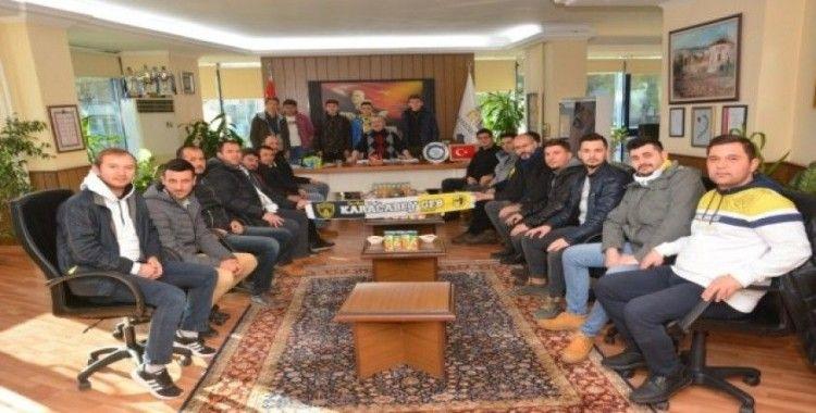 Genç Fenerbahçeliler Taraftar Grubu'ndan protokol ziyaretleri