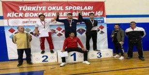 Develili sporcu Kickboks Türkiye Şampiyonasında 3. Oldu