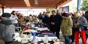 Adana'da İkinci El Ürünler ve Antika Pazarı açıldı