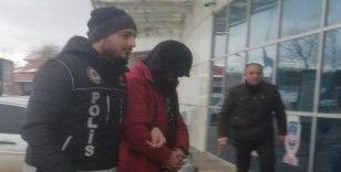 Uyuşturucudan adliye çıkartılan şahıs tutuklandı