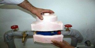 Aşırı soğuklar su sayaçları zarar veriyor