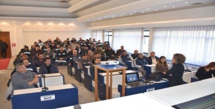 Salihli'de belediye personeli eğitimden geçti