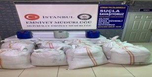 Silivri'de kargo çuvallarında 2 tonun üzerinde kaçak tütün yakalandı