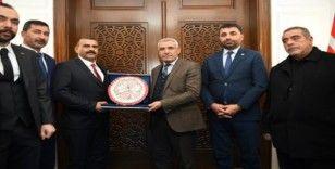 MHP'den Başkan Güder'e ziyaret