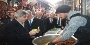 Bakan Yardımcısı Demircan, tuz hanında incelemede bulundu