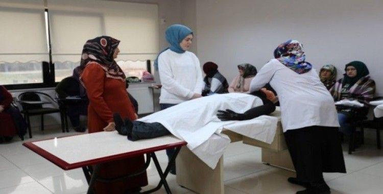 KO-MEK'ten Kandıralı hanımlara cenaze hizmetleri kursu