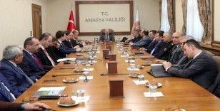Amasya'da festival hazırlık toplantısı