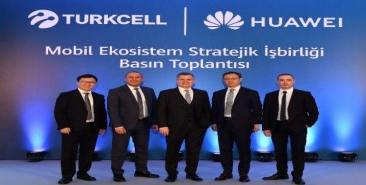 Turkcell ile Huawei arasında mobil servis alanında işbirliği