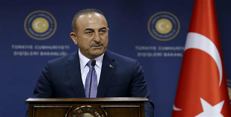 Bakan Çavuşoğlu, Arnavutluk Meclis Başkanı Ruçi ile görüştü