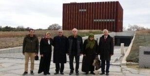 Şehit Fethi Sekin'in babası Mehmet Zeki Sekin Çanakkale'yi gezdi
