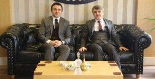 İl Müdürü Turan'dan Rektör Uysal'a ziyaret
