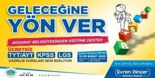 Aksaray Belediyesinden eğitime destek