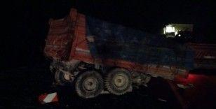 Konya'da tır ile traktör çarpıştı: 1 ölü, 2 yaralı