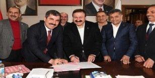 Muş Belediyesinde 'Sosyal Denge Sözleşmesi' imzalandı