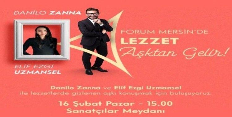 Forum Mersin'de 'Lezzet aşktan gelir' etkinliği
