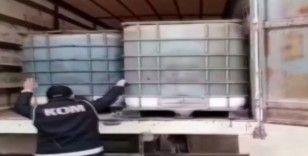 Gaziantep'te 20 bin 500 litre kaçak akaryakıt ele geçirildi