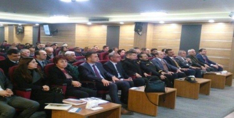 Tarsus'ta muhtarlara bilgilendirme toplantısı