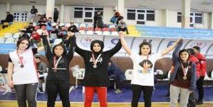 Erzurum'da bilek güreşi heyecanı