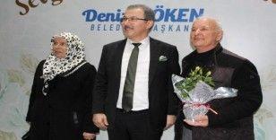 Eyüpsultan'da 40 yıllık evli çiftlere özel program