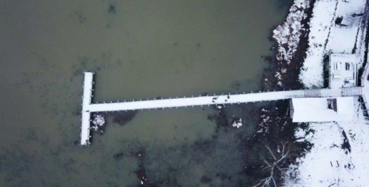 (Özel) Kuş cenneti Efteni Gölü Drone ile görüntülendi