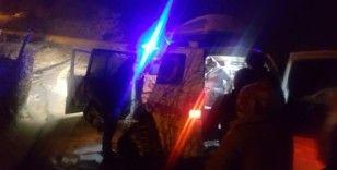 Hamile kadının yardımına UMKE ekipleri paletli ambulansla yetişti