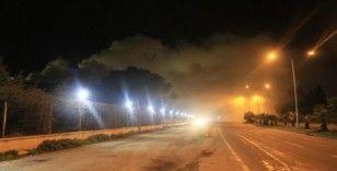Adana'da pamuk yağı fabrikasında yangın