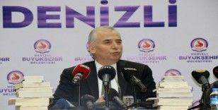 Denizli Büyükşehir Belediyesi ile 20 yazar tarafından hazırlanan 26 eseri tanıttı