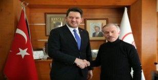 Kardeş şehrin başkanından Başkan Aydıner'e ziyaret