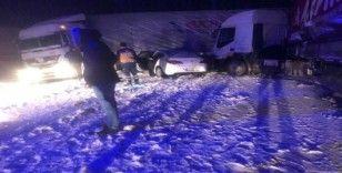 Kayseri'de zincirleme kaza: 1 yaralı