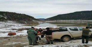 Bolu'da kaçak avlanan 3 kişiye 5 bin TL ceza kesildi