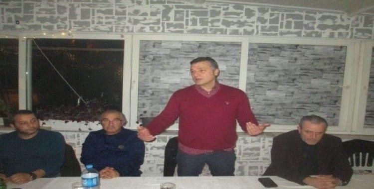 Erdekspor'lu futbolculara moral yemeği