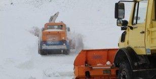 Elazığ'da kar nedeniyle 314 köy yolu kapalı