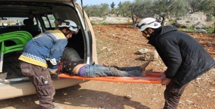 Esad rejimi Halep'in Maart El Atarib köyünü vurdu: 3 ölü, 3 yaralı