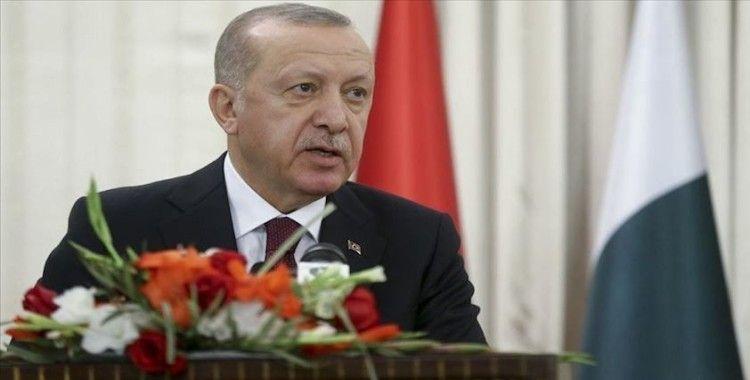 Erdoğan: 'Askeri ve savunma sanayii, Pakistan ile ilişkilerimizde en önemli başlığı teşkil ediyor'