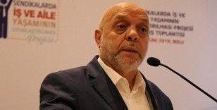 HAK-İŞ Genel Başkanı Arslan: 'CHP'li Özgür Özel emekçilerden özür dilemelidir'