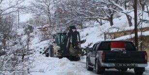 Erzincan'da 278 köy yolu ulaşıma kapandı