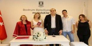 Sevgililer Günü'nde Bodrum'da nikah yoğunluğu
