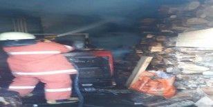 İnebolu'da odunlukta çıkan yangın korkuttu