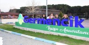 Gökçeada Belediyesi, Germencik'in İNYA projesini yerinde inceledi