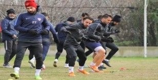 Hatayspor, Akhisarspor maçının hazırlıklarını tamamladı