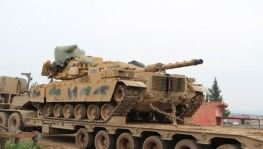 Sınıra tank sevkiyatı