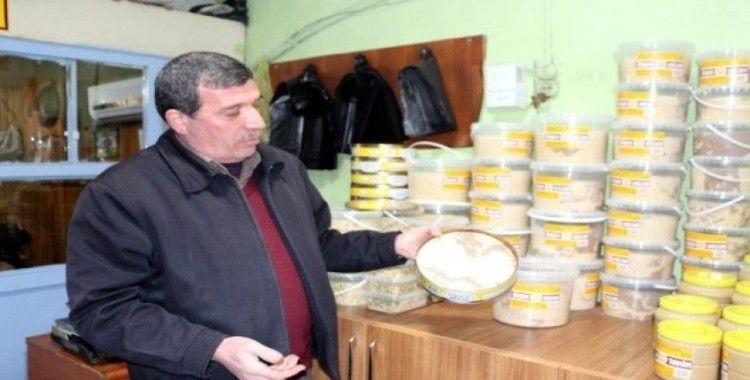 Siirt'te soğuk havalar helva satışını arttırdı