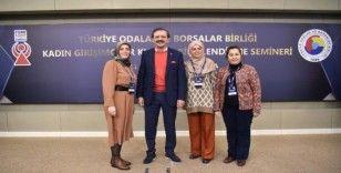 Şener, Ankara'da düzenlenen 'TOBB İştiraklerini Tanıtma' toplantısına katıldı