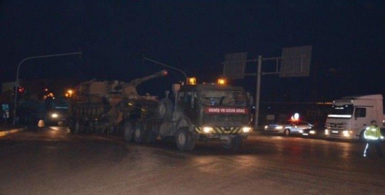 Reyhanlı sınırına tank sevkiyatı