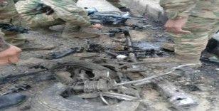 El Bab'da bomba yüklü motosiklet patladı