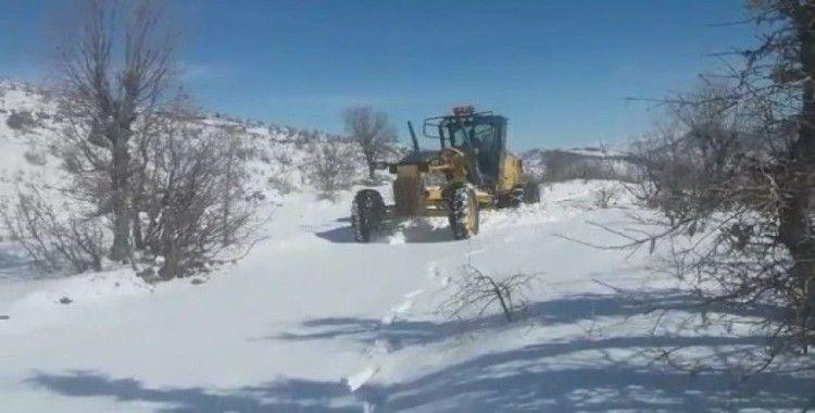 Adıyaman'da kapalı köy yolları açılıyor