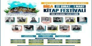 Biga Kitap Festivali kapılarını açıyor