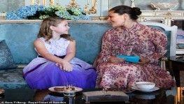 İsveç Prensesi ölümü bekleyen çocuğun hayalini gerçekleştirdi