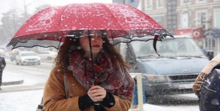 Bayburt'ta Sibirya soğukları etkili oluyor